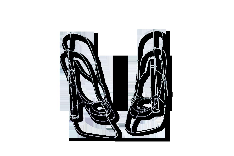 Paire Paire De Fil De Fil Fer Chaussures Chaussures RALq5Sc34j